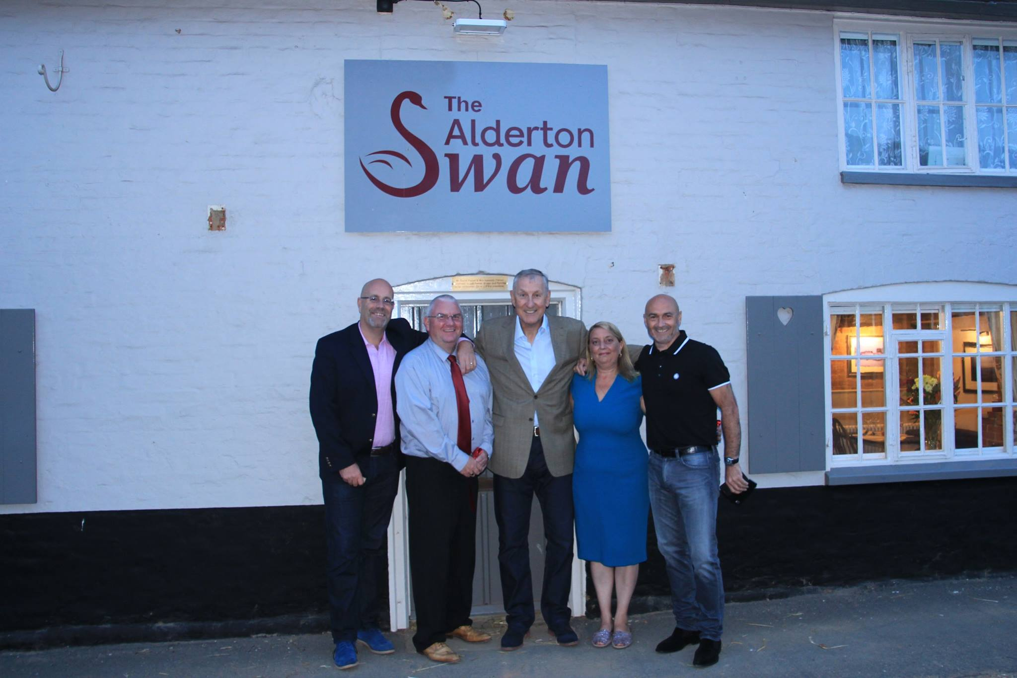 Reopening of The Swan - Harrison and Wildon