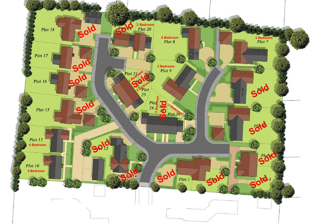 Site Plan - Fullers Field Development - Harrison and Wildon