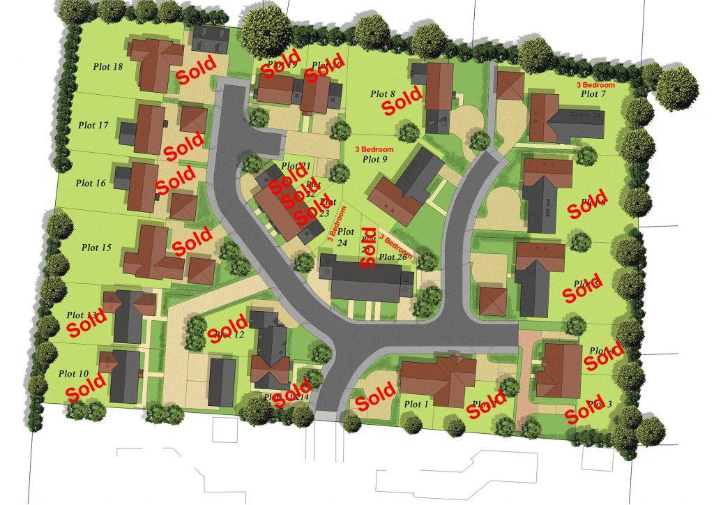 Site Plan - Fullers Field Development - Harrison and Wildon